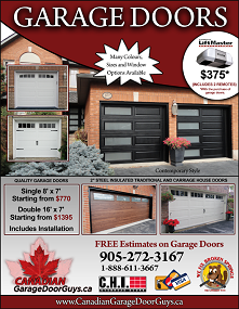 Door flyer for Garage door repair philadelphia