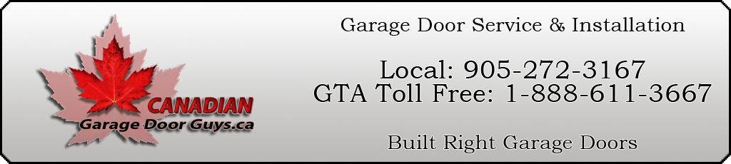 Garage Door Service & Installation